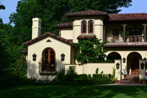 Spanish Revival New Construction, Mission Hills KS